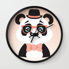 Happy Mother's Day ~ Panda Wall Clock