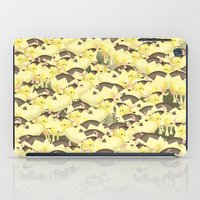 cows iPad Cases featuring Cows by Ana Elisa Granziera