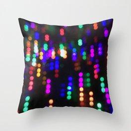 Night Lights in December no. 2 Throw Pillow