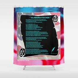 ALABAMA'S SONG Shower Curtain