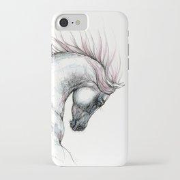 Arabian horse head iPhone Case