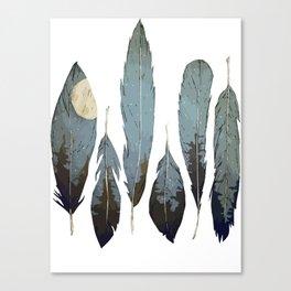 Forest Birds Canvas Print