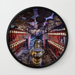 The Oriental Boudhist Temple Wall Clock