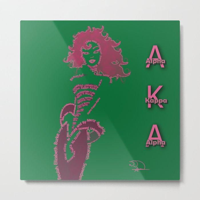 AKA   Metal Print