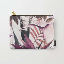 Magenta tropical Carry-All Pouch