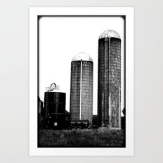 Farm Trio Art Print