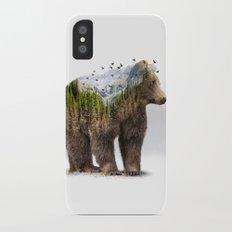Wild I Shall Stay | Bear Slim Case iPhone X