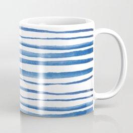 SHIBORI WATERCOLOR STRIPES Coffee Mug