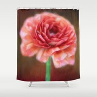 persian Shower Curtains featuring Persian Buttercup by ThePhotoGuyDarren