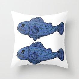 Fish 2 Throw Pillow