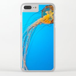 Animality: Jellyfish, Solo. Clear iPhone Case