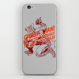 Powdered Toast Man -after kirby iPhone Skin