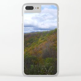 Fall in Shenandoah National Park Clear iPhone Case