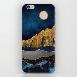 Midnight Desert Moon iPhone Skin