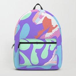 Sherbert space vibes Backpack