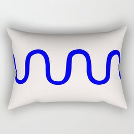 Abstract Shape Series - Squiggle Rectangular Pillow