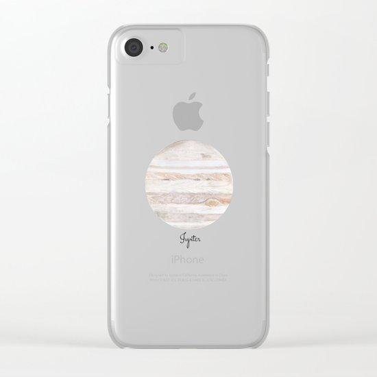 Jupiter Clear iPhone Case
