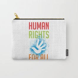 Human Rights For All Carry-All Pouch