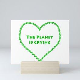 Our Planet Mini Art Print