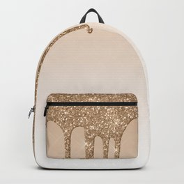 Dripping gold Backpack