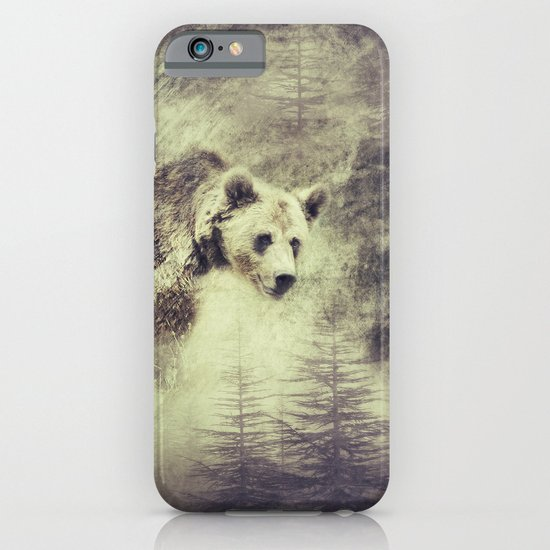 """""""Forest bear"""" iPhone & iPod Case"""