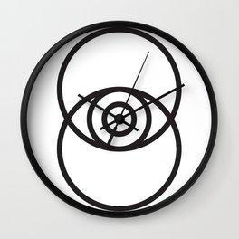 Eye to Eye Wall Clock