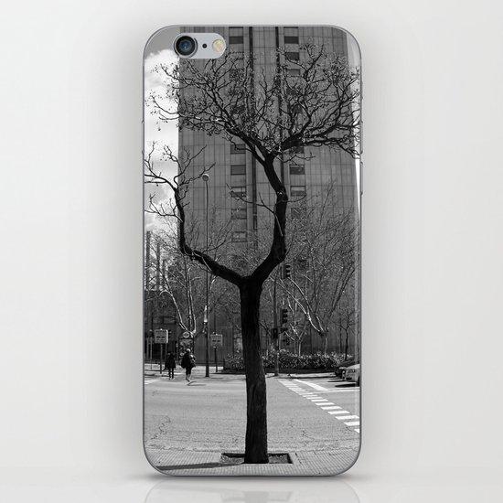 Tree in Madrid iPhone & iPod Skin