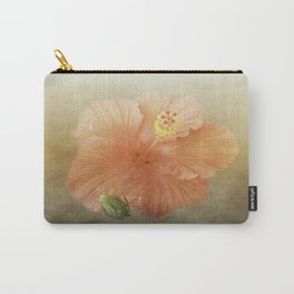 Warm Hibiscus Carry-All Pouch