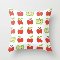 apple lover Throw Pillow