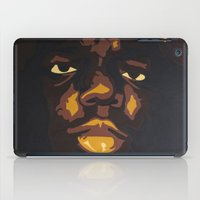 notorious iPad Cases featuring NOTORIOUS by Tessa Scheckner