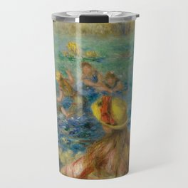 "Auguste Renoir ""Baigneuses"" Travel Mug"