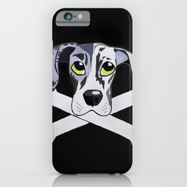 Nyx the Great Dane iPhone Case