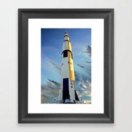 NASA Saturn V - Huntsville, AL Framed Art Print