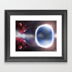 Unending Space Framed Art Print