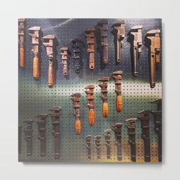 Wrenches Metal Print