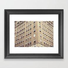 urbanism. Framed Art Print