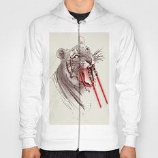 Light Saber Tooth Tiger Hoody
