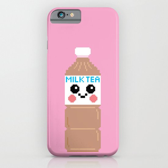 Happy Pixel Milk Tea iPhone & iPod Case