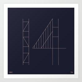 DEC 14 Art Print