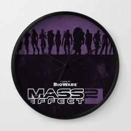 Mass Effect 2 Wall Clock