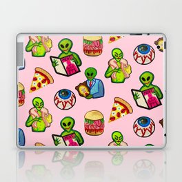 Pick and Mix of Bad Aliens Laptop & iPad Skin
