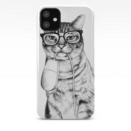 Mac Cat iPhone Case