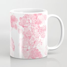 Ivy and Florals in Pink Coffee Mug