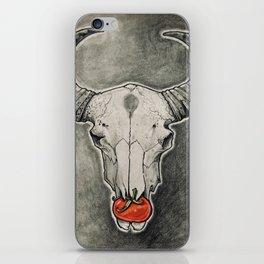 Tomato Skull iPhone Skin