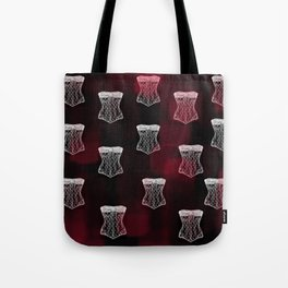 Corset pattern Tote Bag