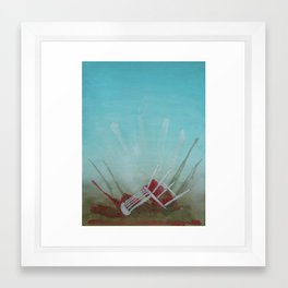 Landed Framed Art Print