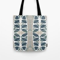 scandinavian Tote Bags featuring Scandinavian retro by a.r.r.p.