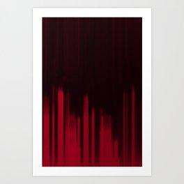 Red Streak Art Print