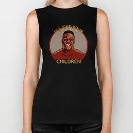 I'll Eat Your Children Biker Tank