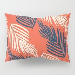 Orange Palms Pillow Sham